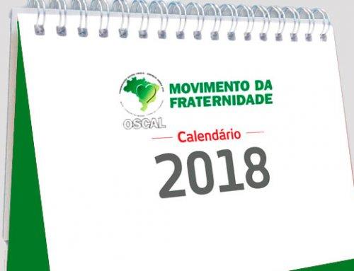 Calendário MOFRA-OSCAL 2018